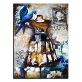 Obraz 90x120cm CINDERELLA ręcznie malowany na płótnie