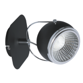 Lampa kinkiet czarny Ball LED 5W