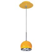 Lampa wisząca żółty Ball 1xGU10 9W od reki