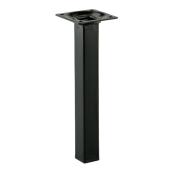 Noga meblowa MOLTA 20x2,4x2,4cm metalowa czarna