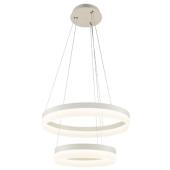 Lampa wisząca RING LED 60cm 28W 40W metal szkło