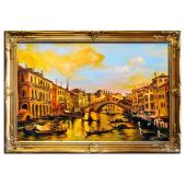 Obraz 75x105cm CZAR WENECJI ręcznie malowany na płótnie