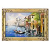Obraz 75x105cm MAGICZNA WENECJA ręcznie malowany na płótnie