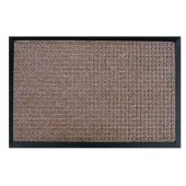 Wycieraczka GANDER 60x40 cm polipropylen brązowa faktura