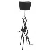 Lampa podłogowa GLENN 162cm czarna metal