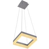 Lampa wisząca RING LED 40x40cm 36W metal szkło
