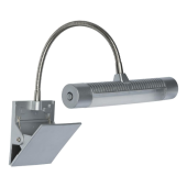 Lampa klips KSEROX LED 21cm srebrny