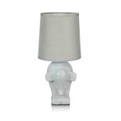 Lampa stołowa nocna dziecięca Markslojd ELEPHANT 105791 szary