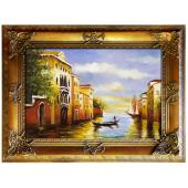 Obraz 90x120cm CZAR WENECJI ręcznie malowany na płótnie