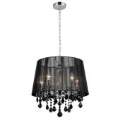 Lampa wisząca CORNELIA 45cm kryształ MDM-2572/5 BK Italux