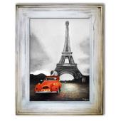 Obraz 86x116cm ROMANTYCZNY PARYŻ ręcznie malowany na płótnie
