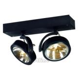 Lampa 147260 spotline KALU 2 czarna kinkiet ścienna sufitowa