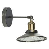 Lampa kinkiet ARAMIS brąz 24cm E27 regulowany