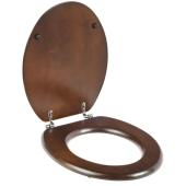 Deska sedesowa WOOD toaleta WC opad standardowy drewniana
