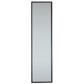 Lustro RON 120X30cm czarna rama