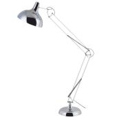 Lampa podłogowa ADELAIDA 180cm chrom 60W