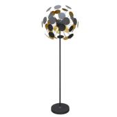 Lampa podłogowa DOTS czarny 56cm 164cm