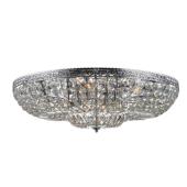Lampa MARKSLOJD kryształ plafon VANADIS 78cm 105314 chrom