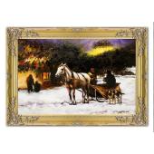 Kopia 75x105cm ALFRED W.KOWALSKI ręcznie malowana na płótnie