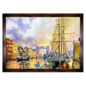 Obraz 200x140cm CZAR WENECJI ręcznie malowany na płótnie