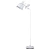 Lampa podłogowa TALARO 150cm biała metal E14 40W