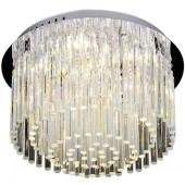 Lampa plafon EUPHORIA LED 40cm chrom kryształki
