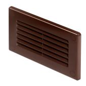Kratka wentylacyjna MINT 13,9x8,4cm tworzywo brązowa