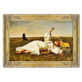 Kopia 75x115cm CHEŁMOŃSKI ręcznie malowana na płótnie