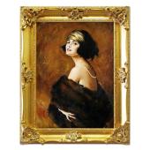 Kopia 75x95cm TADEUSZ STYKA ręcznie malowana na płótnie