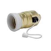 Oprawka żarówki ceramiczna E27 sznurkowy wyłącznik
