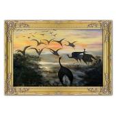Kopia 75x107cm CHEŁMOŃSKI ręcznie malowana na płótnie