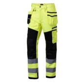 Spodnie robocze ostrzegawcze rozmiar 54 odblaskowe BĄDŹ WIDOCZNY