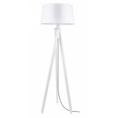 Lampa podłogowa RUNE 155cm biały dąb