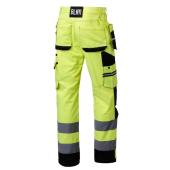 Spodnie robocze ostrzegawcze rozmiar 58 odblaskowe BĄDŹ WIDOCZNY