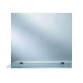 Lustro z półką EMILY 50x40cm grubość szkła 4mm