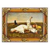 Kopia 85x115cm CHEŁMOŃSKI ręcznie malowana na płótnie