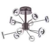 Lampa wisząca METIS LED 70cm brązowa ruchome klosze