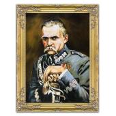 Kopia 63x83cm KOSSAKOWIE ręcznie malowana na płótnie