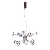 Lampa wisząca METIS LED 76cm brązowa ruchome klosze