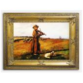 Kopia 90x120cm CHEŁMOŃSKI ręcznie malowana na płótnie