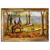 Kopia 75x105cm KOSSAKOWIE ręcznie malowana na płótnie