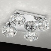 Lampa plafon sufitowy BALL kryształ wysyłka od ręki!