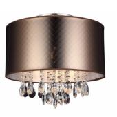 Lampa plafon Motan MXM2047/3  kryształ Brąz  italux