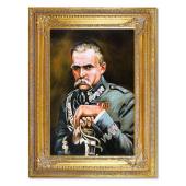 Kopia 87x117cm KOSSAKOWIE ręcznie malowana na płótnie