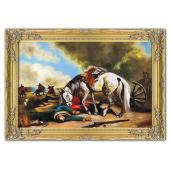 Kopia 75x115cm WIERNY TOWARZYSZ ręcznie malowana na płótnie