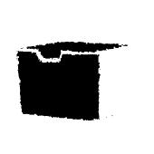Wkład do pojemnika BRENDON 11,8x10,5x7,6cm tworzywo czarny