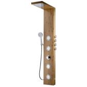 Panel prysznicowy TRYPOLIS 150x22cm drewno