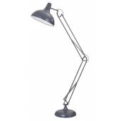 Lampa podłogowa ADELAIDA 167cm szary metal 40W
