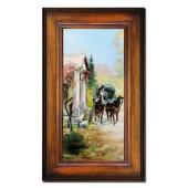 Kopia 66x111cm MALARSTWO POLSKIE ręcznie malowana na płótnie