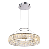 Lampa wisząca MAXIS LED MD14066703-1A Italux kryształ